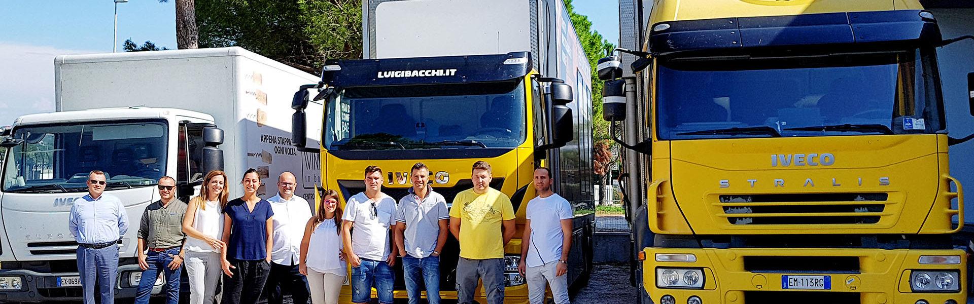 Enotech imbottigliamento mobile team